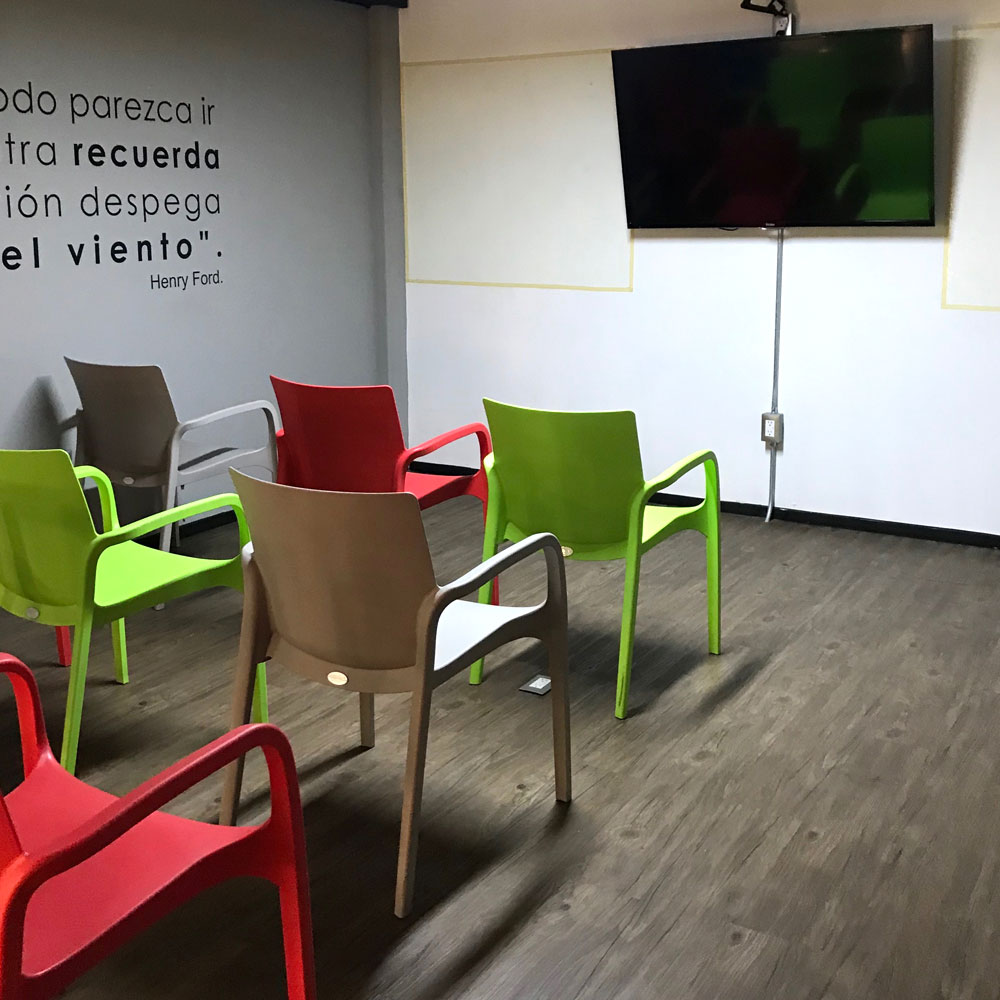 Ver fotos de espacios de reunión